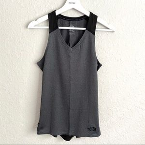 The North Face Dynamix Gray Black Training Tank